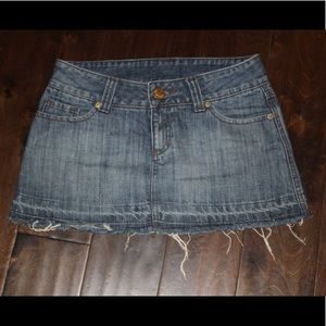 Hurley Denim Mini Skirt